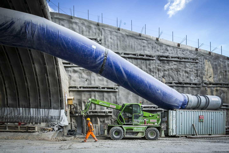 strabag nuovo farma fotografia industriale cantiere