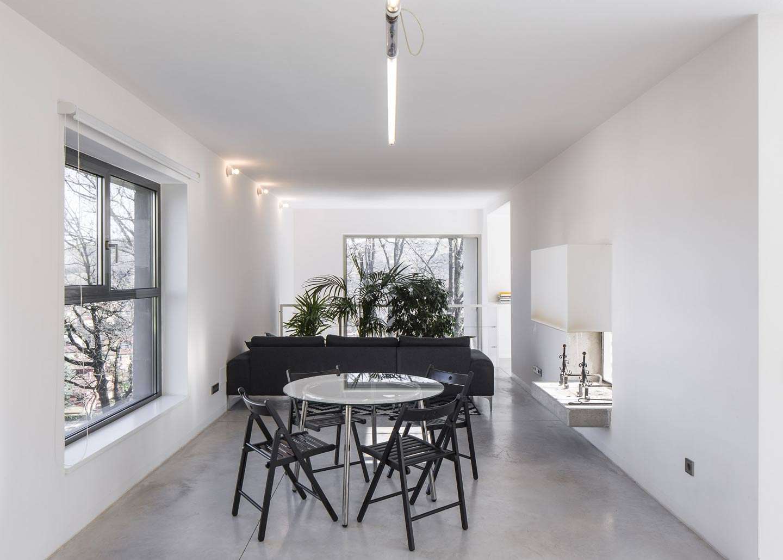 interni casa nera urbania