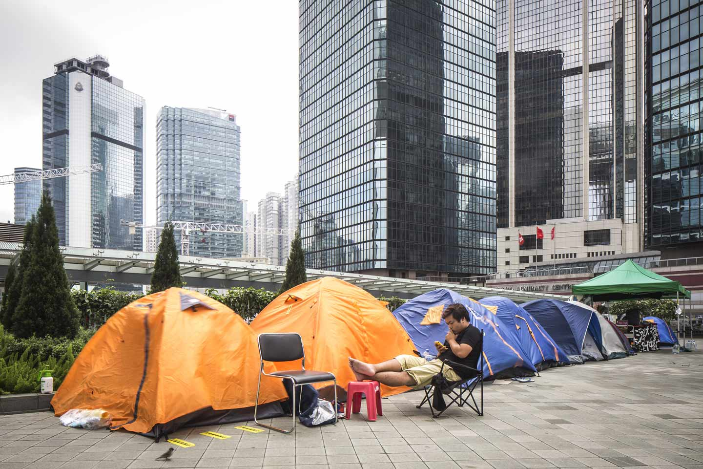 umbrella revolution fotografia cityscapes photography hong kong