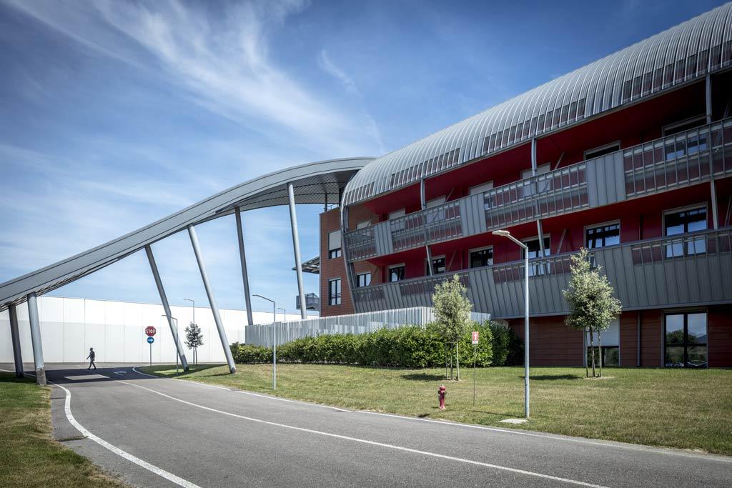 architettura esterni - ospedale monselice